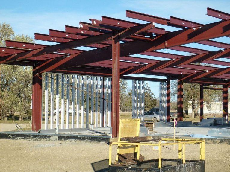 钢框架钢结构