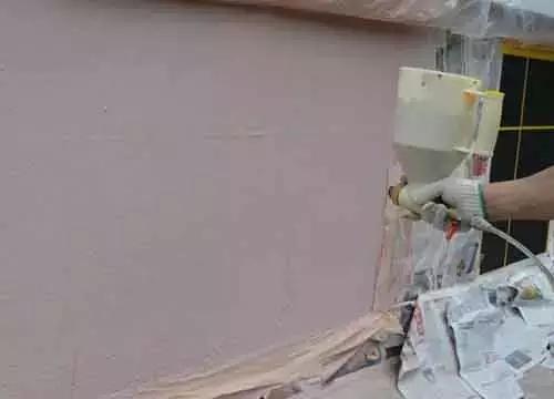 真石漆施工